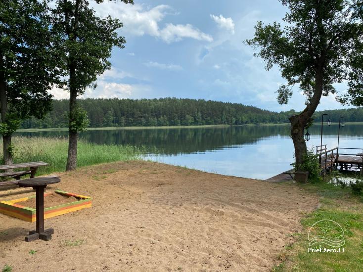 Viensēta pie ezera, kas Lazdijai jomā Tėviškė - 15