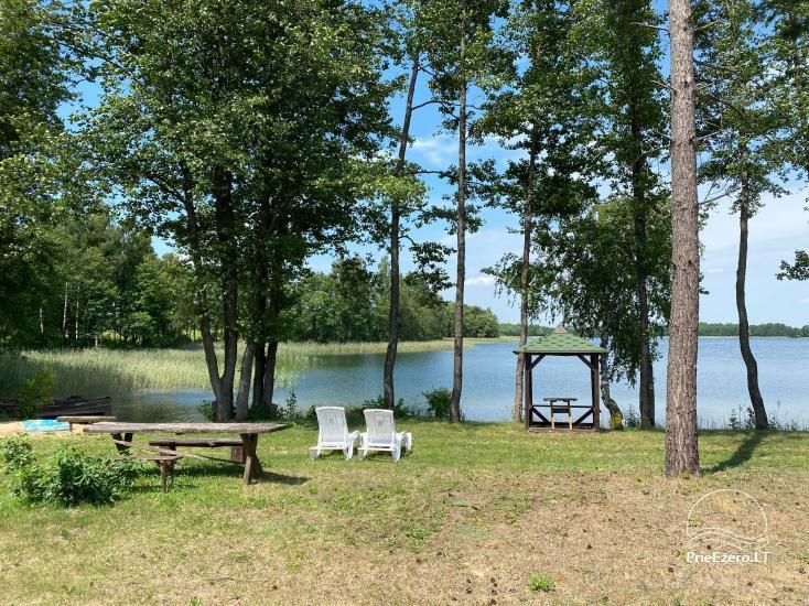 Viensēta pie ezera, kas Lazdijai jomā Tėviškė - 24