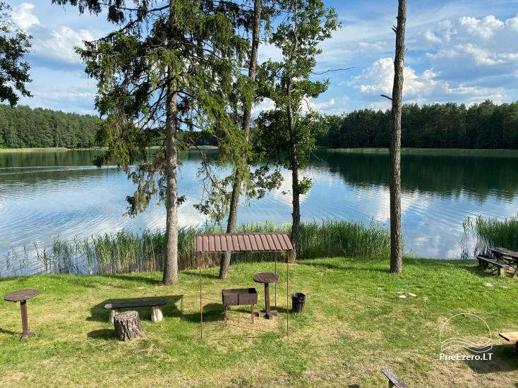 Viensēta pie ezera, kas Lazdijai jomā Tėviškė - 21