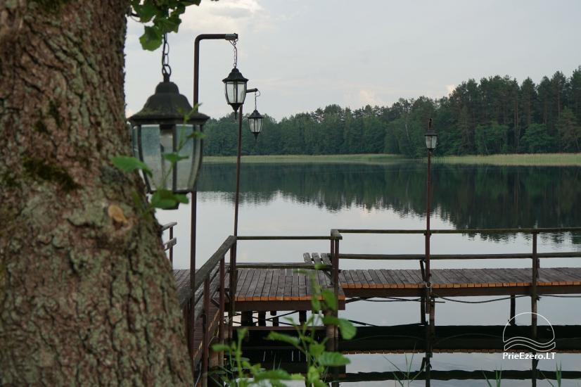 Viensēta pie ezera, kas Lazdijai jomā Tėviškė - 14