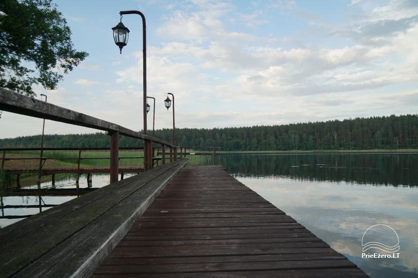 Viensēta pie ezera, kas Lazdijai jomā Tėviškė - 13