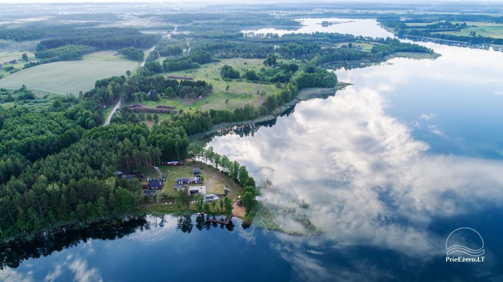 Viensēta pie ezera, kas Lazdijai jomā Tėviškė - 4