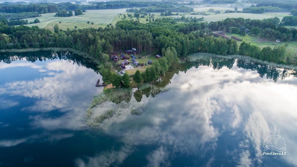Viensēta pie ezera, kas Lazdijai jomā Tėviškė - 3