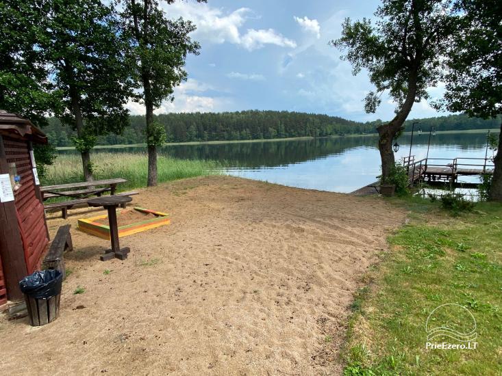 Viensēta pie ezera, kas Lazdijai jomā Tėviškė - 17