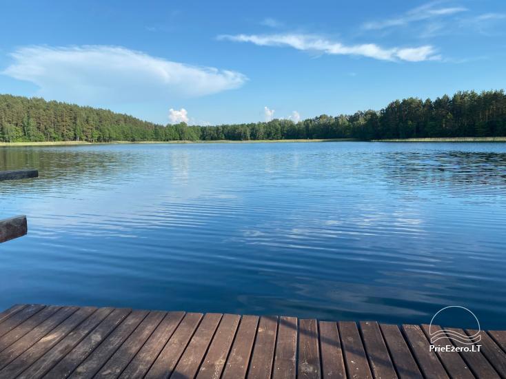 Viensēta pie ezera, kas Lazdijai jomā Tėviškė - 12