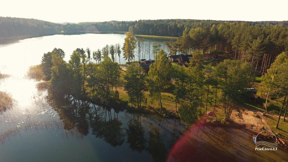 Viensēta pie ezera, kas Lazdijai jomā Tėviškė - 11