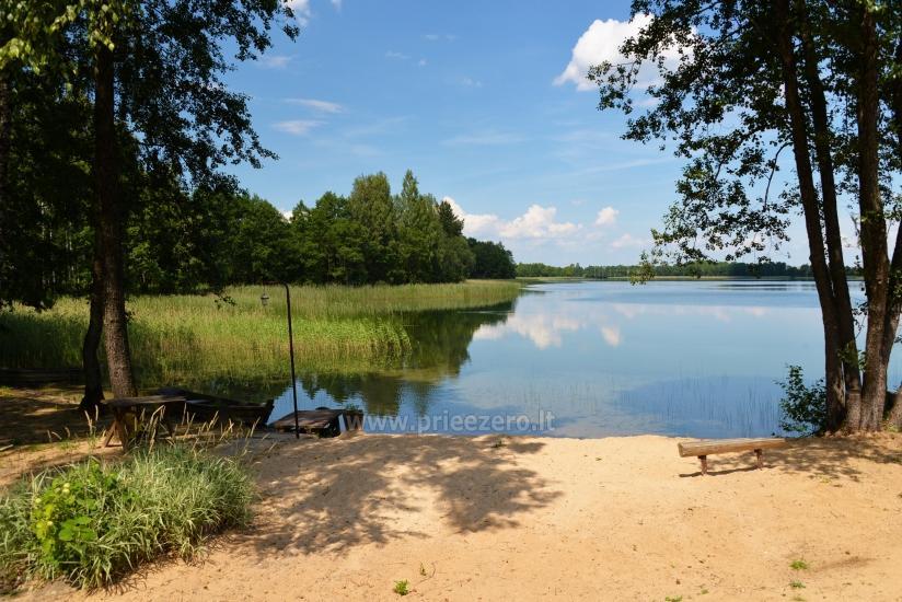 Viensēta pie ezera, kas Lazdijai jomā Tėviškė - 18