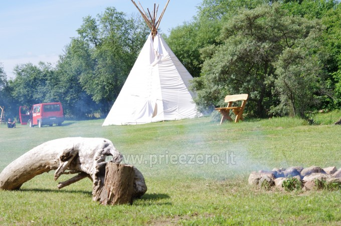 Tūristu nometnes Gargzdai Minijos senvage - 9