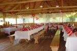 Zāle semināru, komandas ēkā villā Silvestras muiža 15 km no Druskininkai