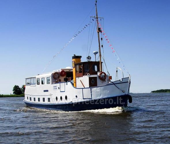 Brauciens ar kuģi Forelle - 1