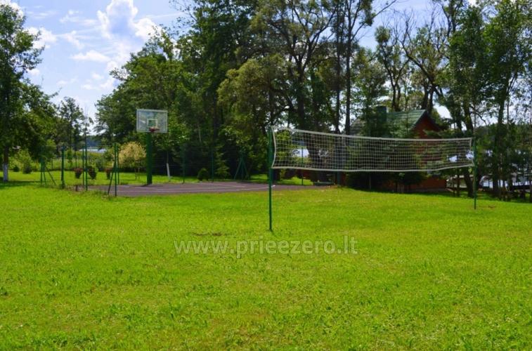 Plosts burāšana, makšķerēšana, sporta laukumi, kas sētā Galuonų sodyba - 15