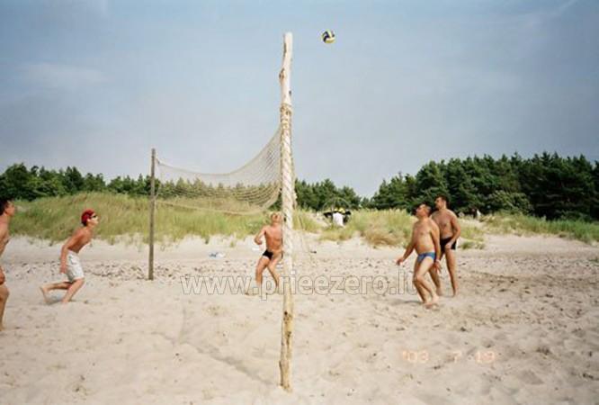 Biljards, galda teniss, sporta spēles atpūtas nami Liepajas rajona pie ezera Pape Aulaukio Baltija - 2