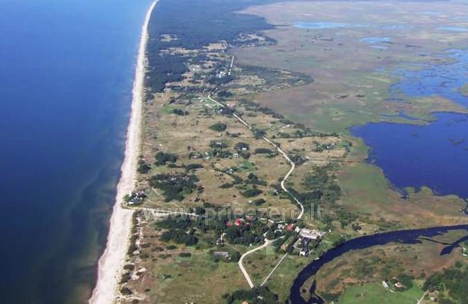 Zvejo ezera Papes, laivu noma. Atpūtas nami Liepajas rajona Aulaukio Baltija - 4
