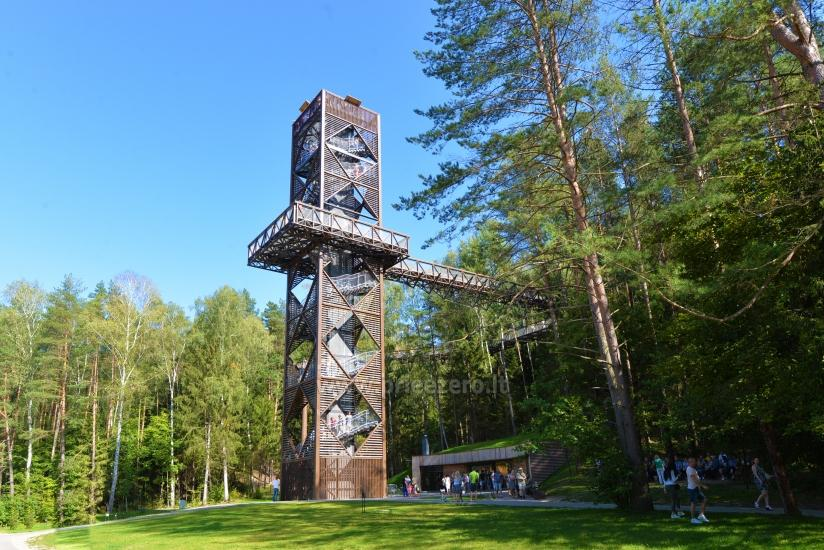 Baldahīns celiņš Anīkšķi, Lietuvā - 1