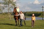 Izjādes ar zirgiem Ventspils novada viesu nami un kempinga Ventaskrasti