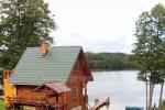 Pirts pie ezera Edmund Dapkus lauku sēta Ignalinas rajona