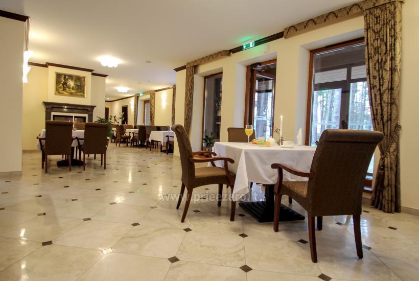 Restoranas viesnīcā Birštonas Pušynė - 8