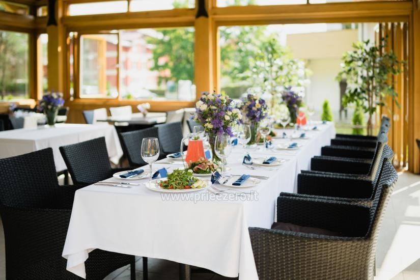 Restoranas viesnīcā Birštonas Pušynė - 13