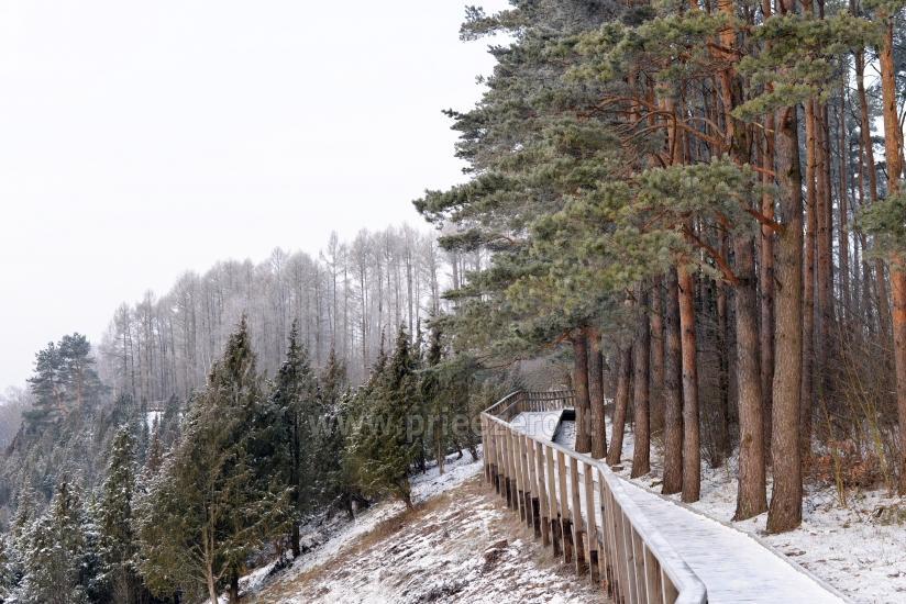 Kadiķu ieleja Kauņā lagūnas reģionālo parku - 24