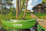 Pirts un karstā baļļa kādā sētā Holandes parks krastā ezera - 6