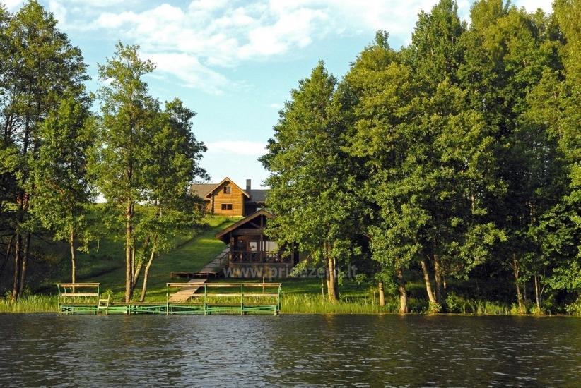 Villa ar banketu zālē sētas Holandes parks - 22
