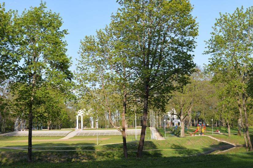 Jurbarkas muižas parks - 11