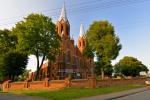 Novērošanas tornis St. Matthew baznīca Anykščiai