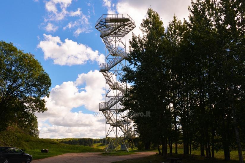 Vilkakalnis novērošanas tornis Ignalinā - 1