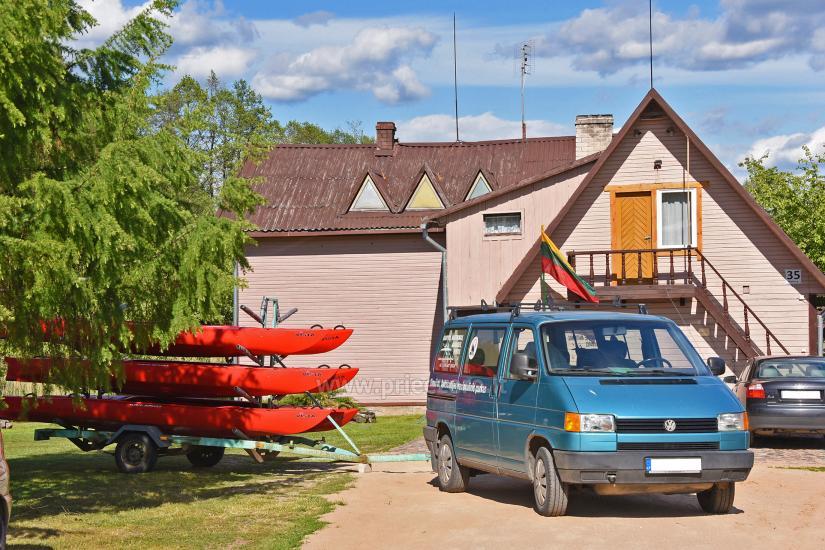 Kayak īre sētā pie ezera Gaidelių sodyba - 4