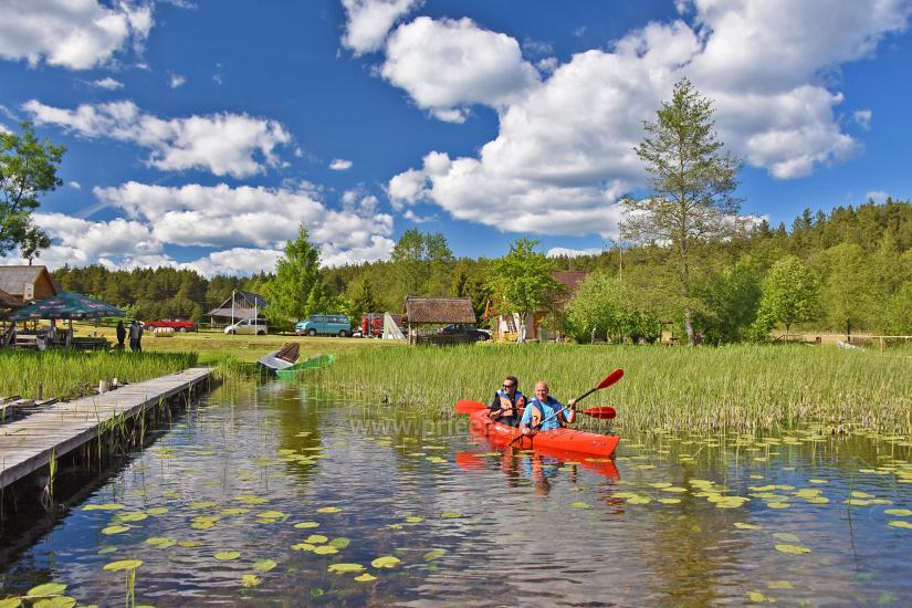 Kayak īre sētā pie ezera Gaidelių sodyba - 5