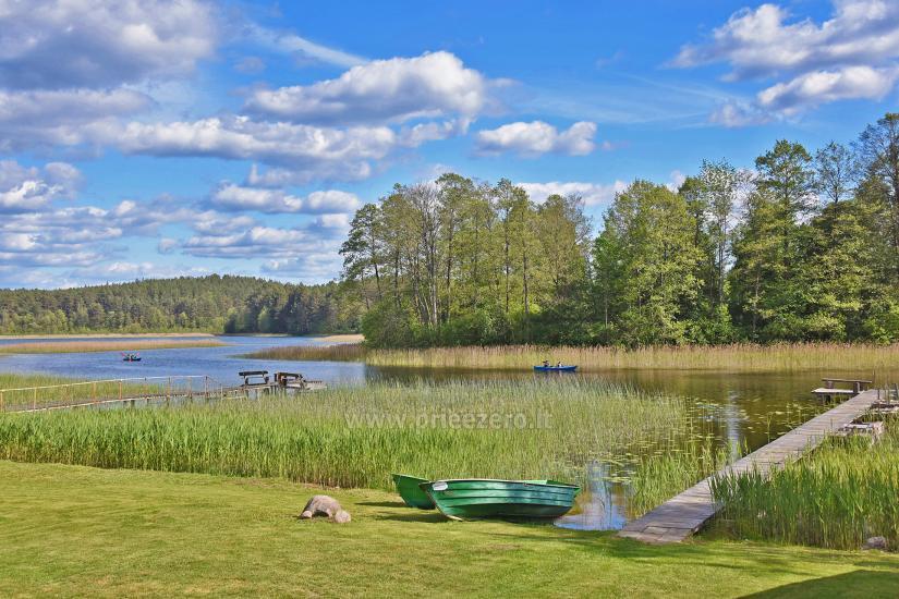 Kayak īre sētā pie ezera Gaidelių sodyba - 7