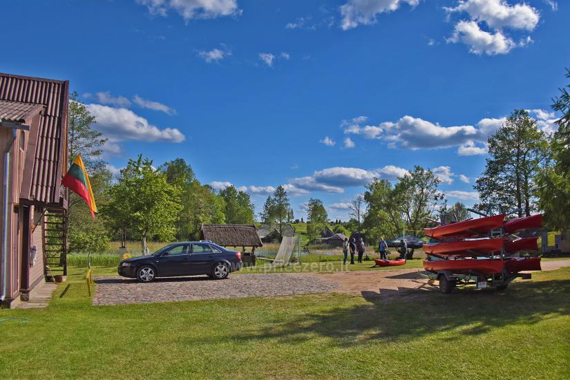 Kayak īre sētā pie ezera Gaidelių sodyba - 2