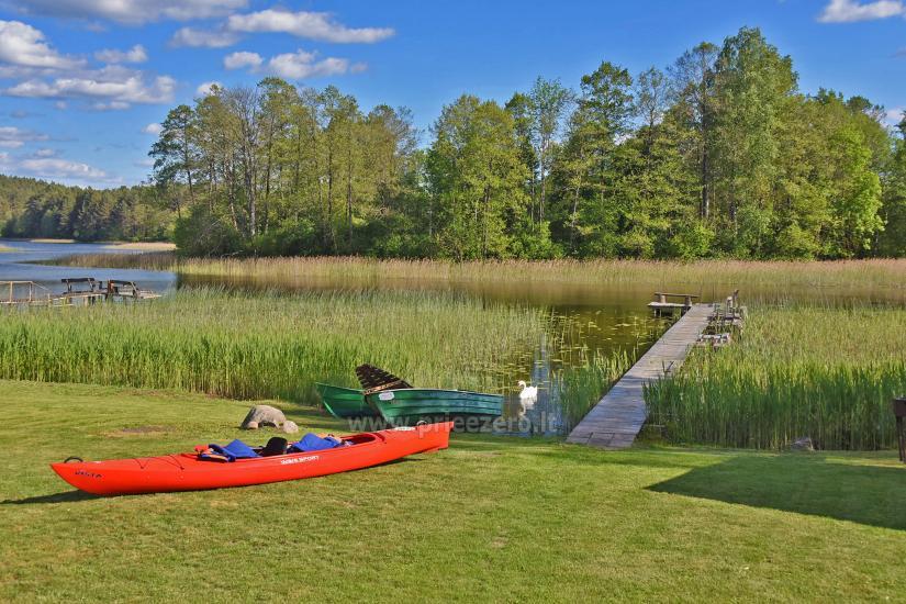 Kayak īre sētā pie ezera Gaidelių sodyba - 8