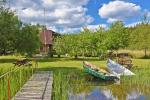 Kayak īre sētā pie ezera Gaidelių sodyba - 10