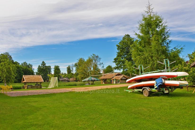 Kayak īre sētā pie ezera Gaidelių sodyba - 11