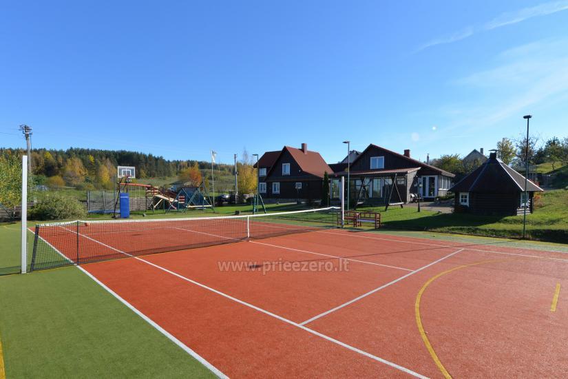 Tenisa korts Ignalinā in sētā Saulėtekis - 2