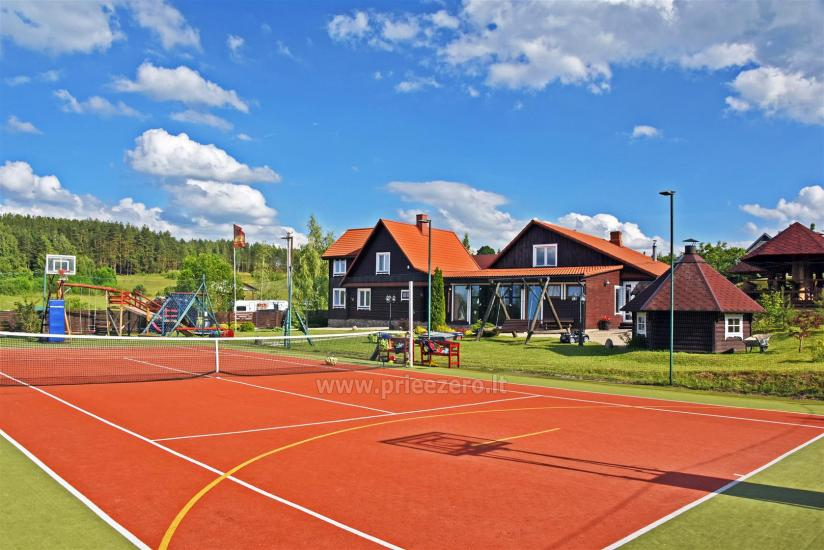 Tenisa korts Ignalinā in sētā Saulėtekis - 1