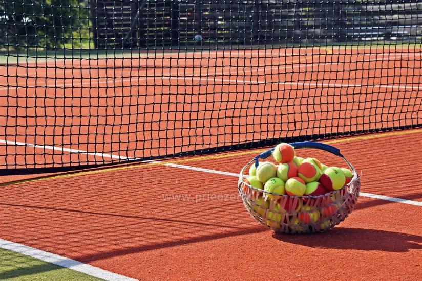 Tenisa korts Ignalinā in sētā Saulėtekis - 4