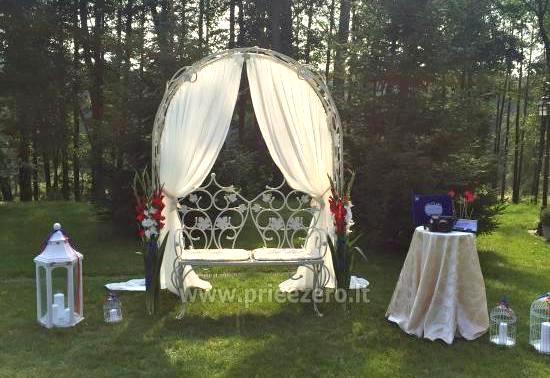 Lauku seta Varenas rajona kāzas ar lielu banketu zāle - 1