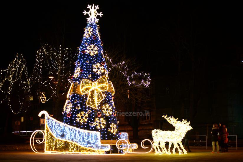 Ziemassvētku eglīte atvēršana Trakai - 1