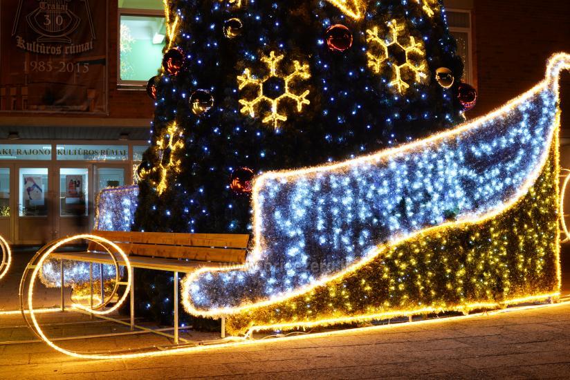 Ziemassvētku eglīte atvēršana Trakai - 8