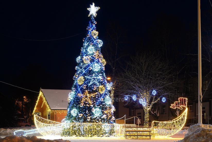 Ziemassvētku eglīte atvēršana Trakai - 5