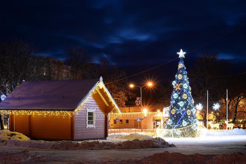 Ziemassvētku eglīte atvēršana Trakai - 3