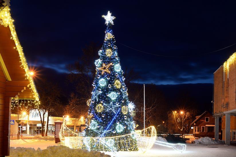 Ziemassvētku eglīte atvēršana Trakai - 2