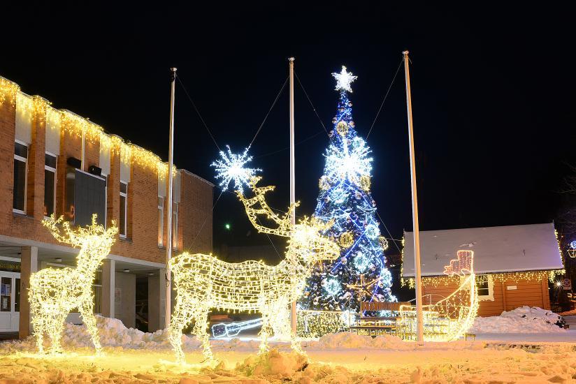 Ziemassvētku eglīte atvēršana Trakai - 4