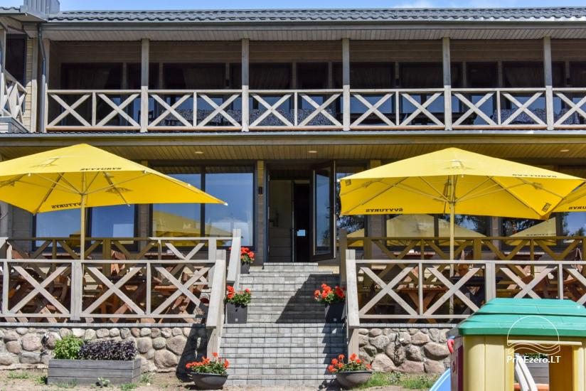 Kafejnīca Kurėnų užeiga uz ezera Ukmerges rajona - 1