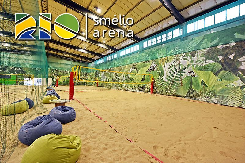 Volejbola laukumi Kauņā RIO arena - 2