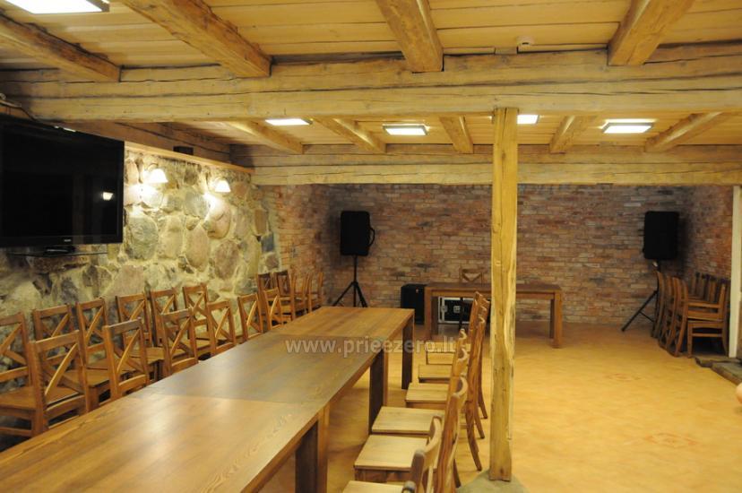 Banketi, konferences, semināri, komandu veidošana - sēta Angelų malūnas - 2