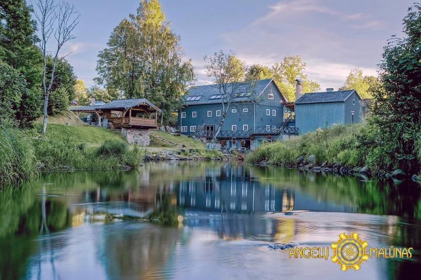 Ekskursijas ūdensdzirnavās, Varniai reģionālajā parkā - sēta Angelų malūnas - 2