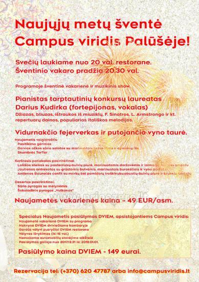 Campus viridis Palūšē, Lietuvā - 1